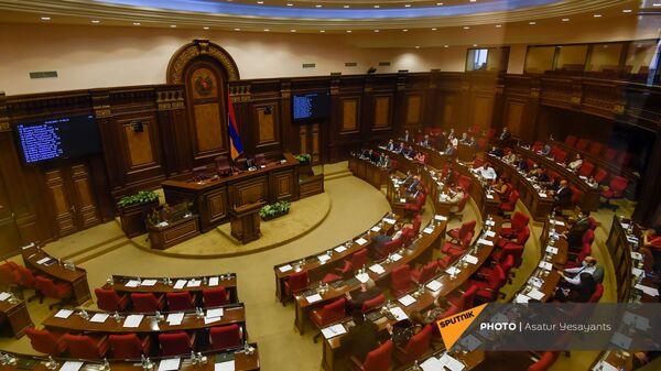 Заседание в Парламенте (10 февраля 2021). Еревaн - Sputnik Արմենիա