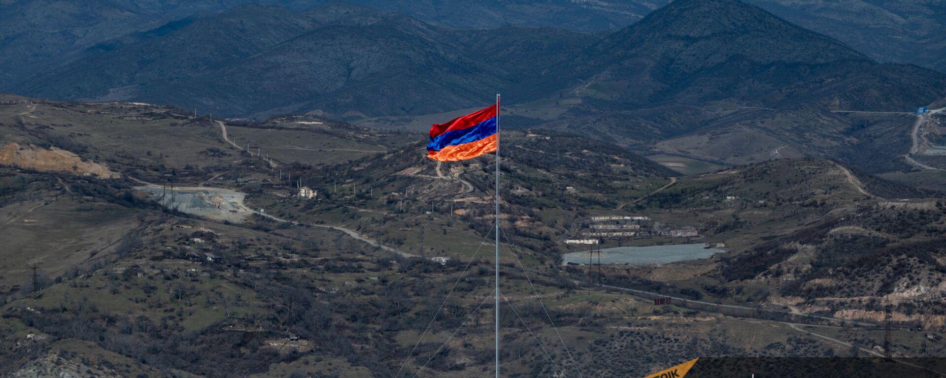 Флаг Армении в Сюнике - Sputnik Армения, 1920, 21.05.2021