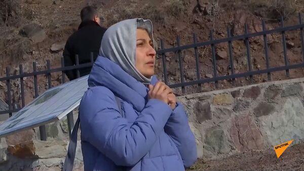 Посещение паломниками христианского монастыря Дадиванк - Sputnik Արմենիա
