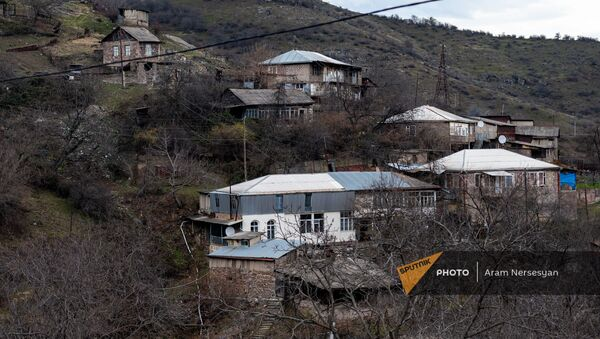 Село Чакатен в Сюникской области - Sputnik Армения