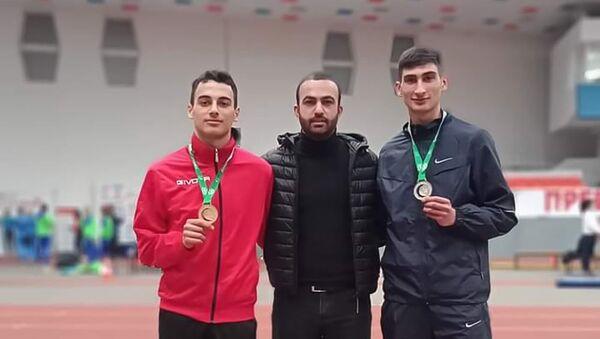 Армянские легкоатлеты на турнире стран Балкан - Sputnik Արմենիա