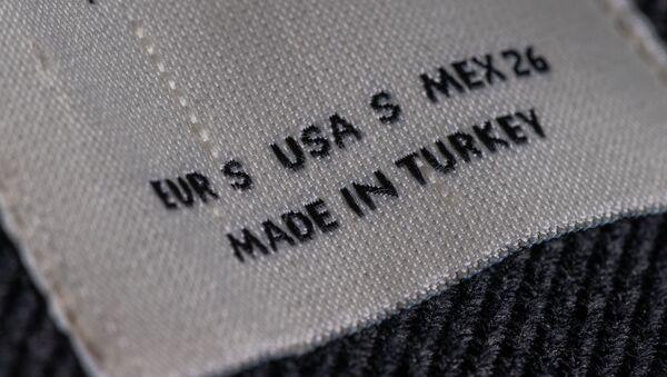 Этикетка на турецкой одежде - Sputnik Արմենիա