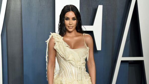 Ким Кардашьян на вечеринке Vanity Fair Oscar Party в Беверли-Хиллз (9 февраля 2020). Калифорния - Sputnik Արմենիա