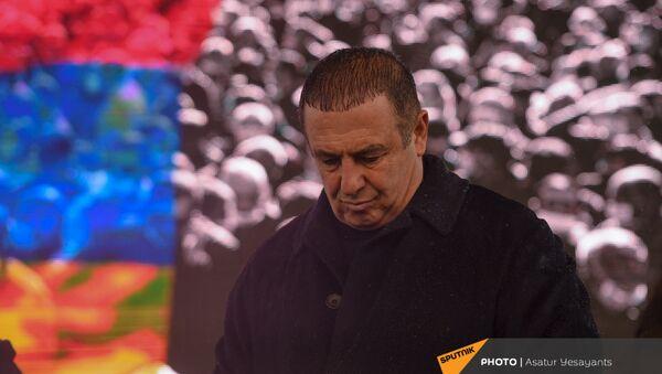 Гагик Царукян на митинге оппозиции (20 февраля 2021). Еревaн - Sputnik Армения