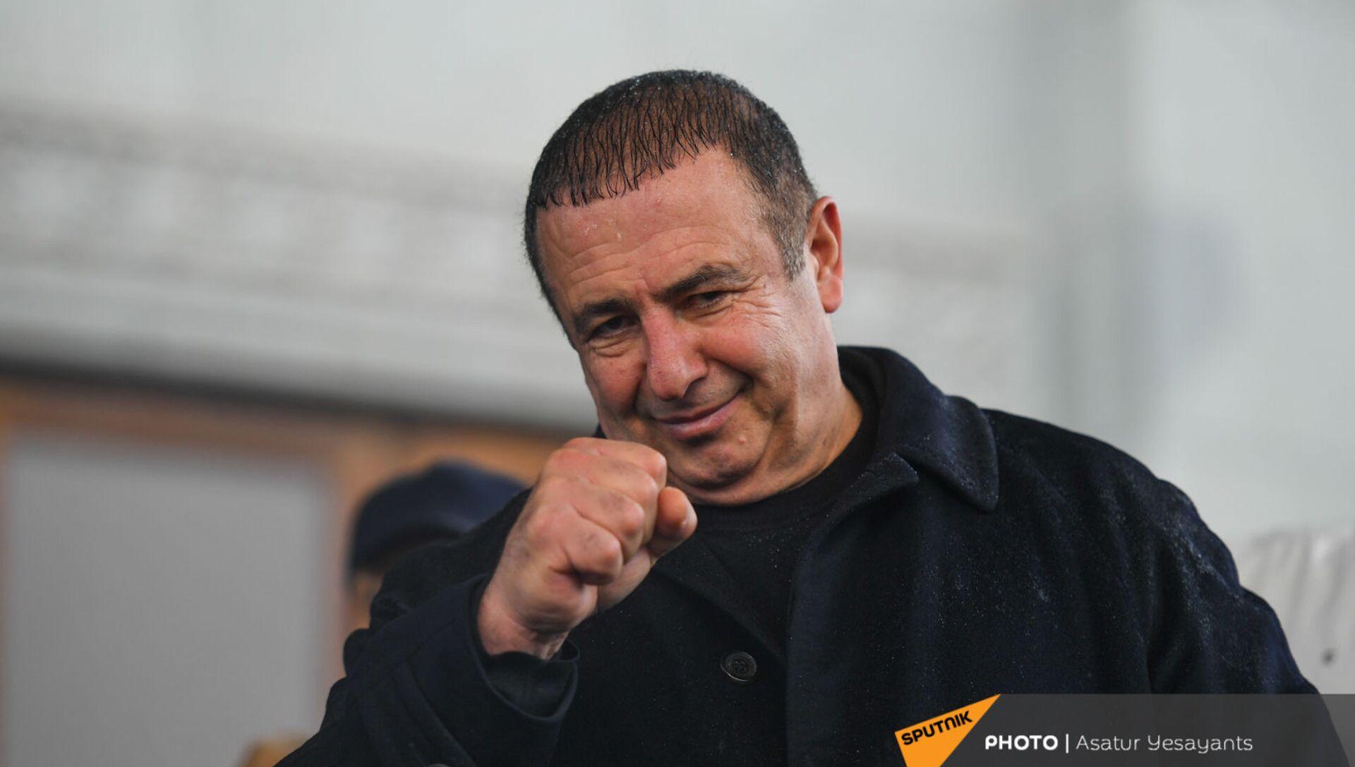 Гагик Царукян на митинге оппозиции (20 февраля 2021). Еревaн - Sputnik Армения, 1920, 12.03.2021
