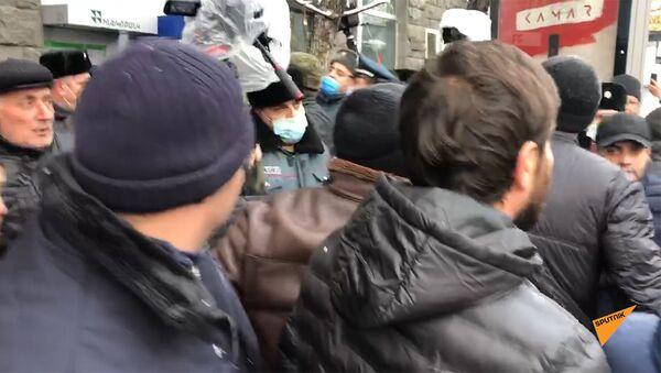 Потасовка на митинге оппозиции - Sputnik Արմենիա