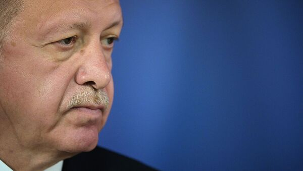 Президент Турции Реджеп Тайип Эрдоган  - Sputnik Արմենիա