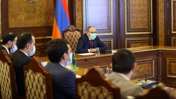 Премьер-министр Никол Пашинян провел заседание Правительства на тему перспектив развития науки (24 февраля 2021). Еревaн - Sputnik Армения