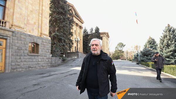 Ситуация у здания Парламента (25 февраля 2021). Еревaн - Sputnik Արմենիա