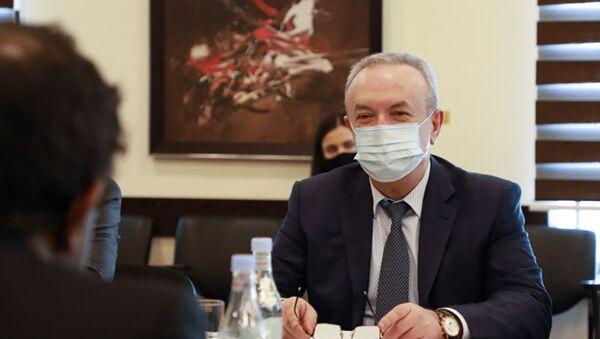 Министр ОНКС Ваграм Думанян - Sputnik Армения