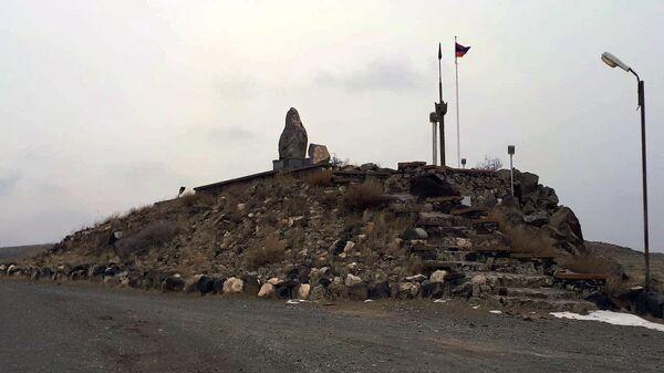 Армяно-турецкая граница, село Ервандашат  - Sputnik Армения