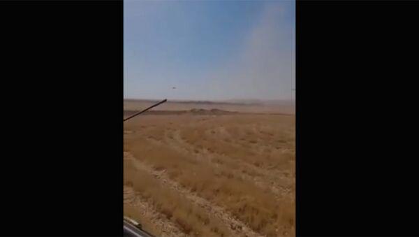Вертолет российских ВКС Ми-35 совершил вынужденную посадку в Сирии - Sputnik Արմենիա