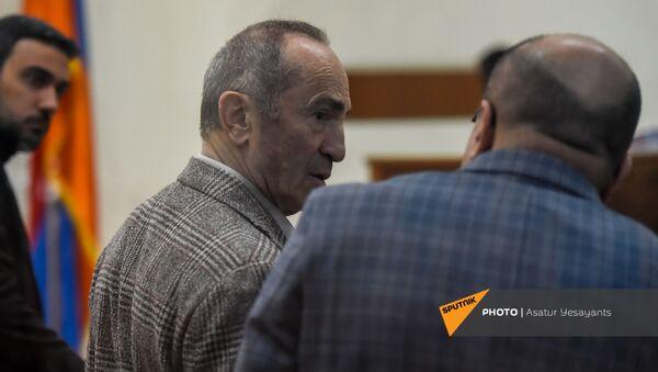 Роберт Кочарян во время заседания суда по делу 1 марта (2 марта 2021). Еревaн - Sputnik Армения