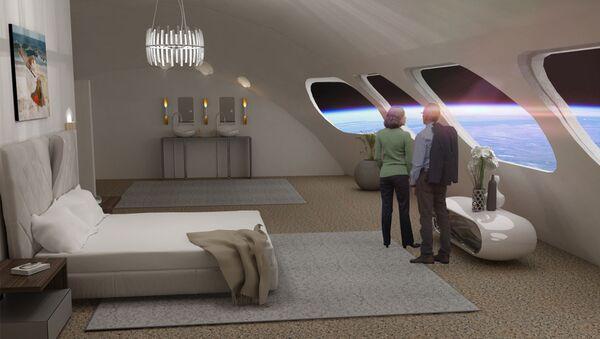 Voyager Station տիեզերական հյուրանոցի համարներից մեկը - Sputnik Արմենիա