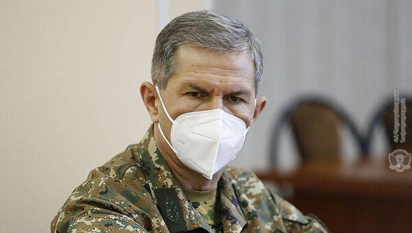 Начальник Генерального штаба ВС РА генерал-полковник Оник Гаспарян - Sputnik Արմենիա