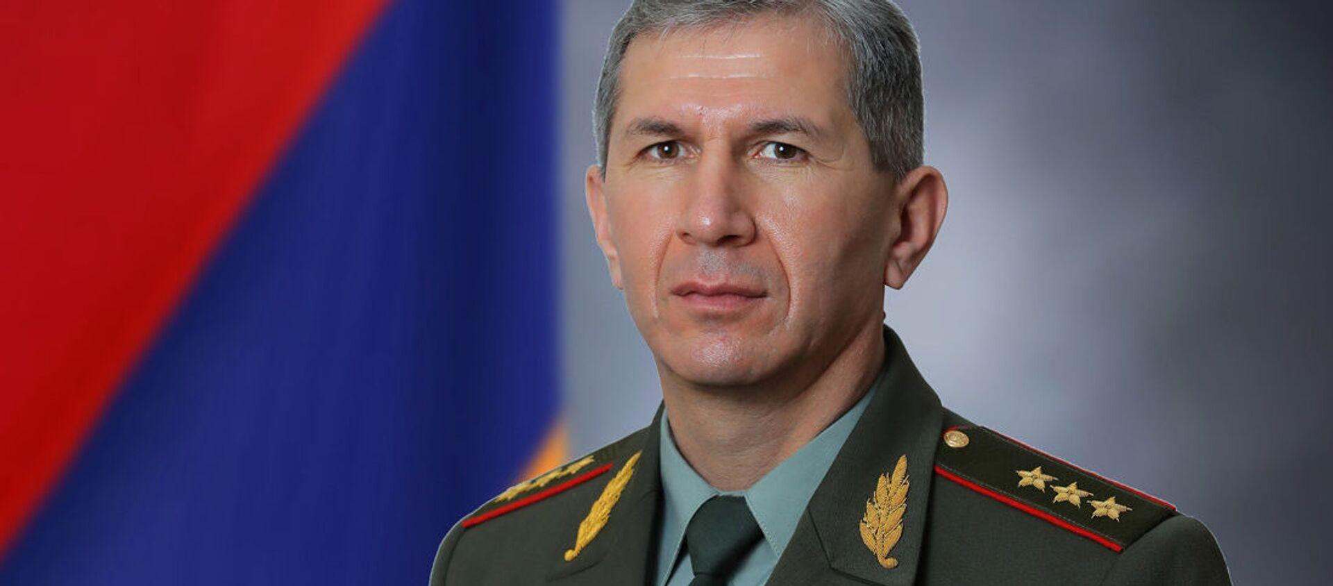 Начальник Генерального штаба ВС РА генерал-полковник Оник Гаспарян - Sputnik Արմենիա, 1920, 10.03.2021