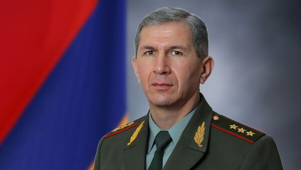 Начальник Генерального штаба ВС РА генерал-полковник Оник Гаспарян - Sputnik Армения