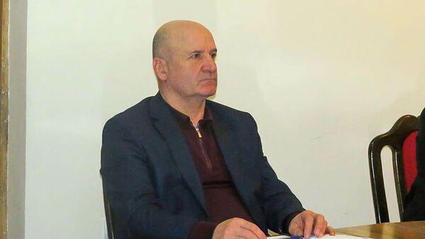Заместитель губернатора Вайоц Дзора, полковник запаса Араик Мурадян во время рабочего совещания в областной администрации (20 февраля 2021). Ехегнадзор - Sputnik Армения