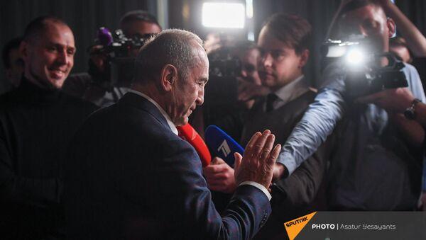 Пресс-конференция второго президента Армении Роберта Кочаряна для российских журналистов (4 марта 2021). Еревaн - Sputnik Армения