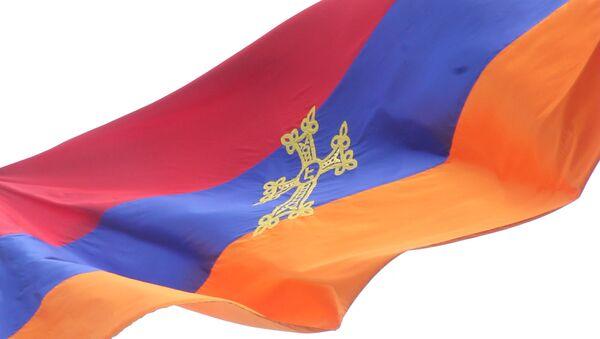 Շուռնուխում` ադրբեջանցիների դեմ դիմաց կծածանվի 30 մետր երկարությամբ  եռագույնը - Sputnik Արմենիա