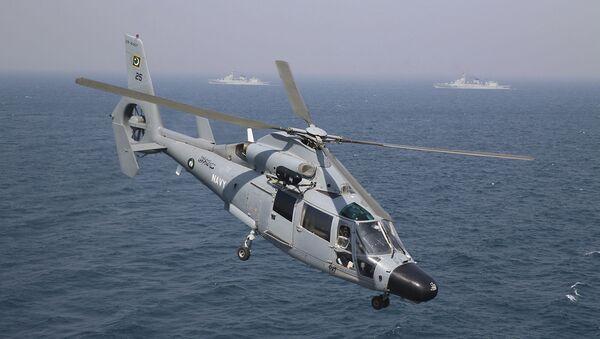 Вертолет ВМС Пакистана принимает участие в многонациональных учениях AMAN-19 в Карачи (11 февраля 2019). Пакистан - Sputnik Արմենիա
