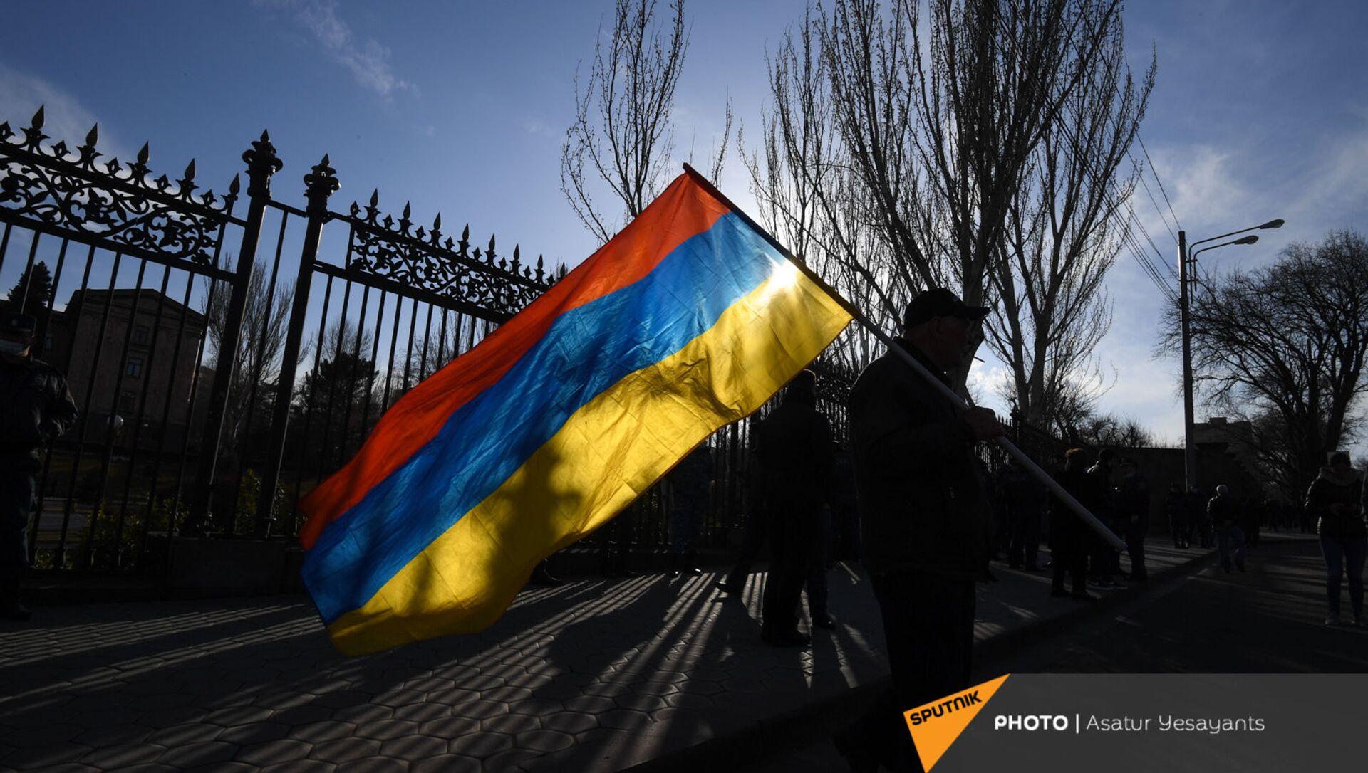 Митинг оппозиции (9 марта 2021). Еревaн - Sputnik Армения, 1920, 06.06.2021