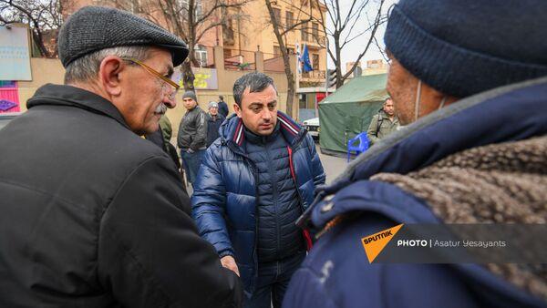 Ситуация на улице Демирчяна (10 марта 2021). Еревaн - Sputnik Армения