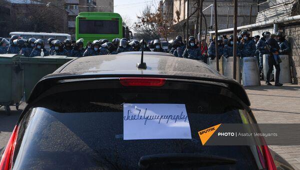 Ситуация на улице Демирчяна (10 марта 2021). Еревaн - Sputnik Արմենիա