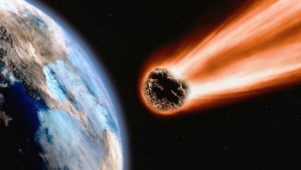 Чрезвычайно редкий метеорит нашли в Великобритании – видео - Sputnik Армения