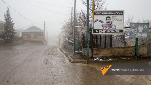 Село Неркин Кармирахбюр Тавушской области - Sputnik Армения