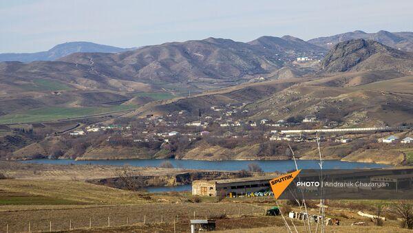 Водохранилище у села Беркабер Тавушской области на границе Армении и Азербайджана - Sputnik Արմենիա