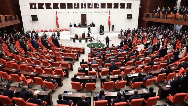 Заседание четвертой законодательной сессии турецкого парламента (1 октября 2020). Анкара - Sputnik Армения