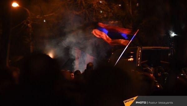 Митинг оппозиции (9 марта 2021). Еревaн - Sputnik Армения