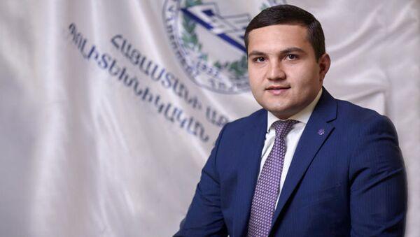Ректор Национального Политехнического Университета Армении Гор Варданян - Sputnik Արմենիա
