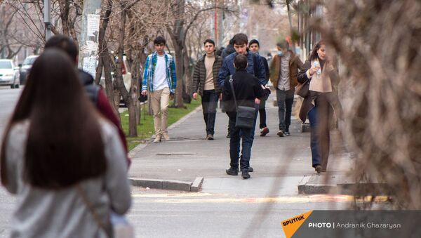 Перекресток улиц Манандяна и Овсепяна - Sputnik Армения