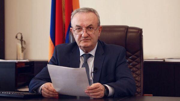 Министр образования, науки, культуры и спорта Ваграм Думанян - Sputnik Армения