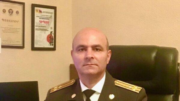 Полковник Службы национальной безопасности Сероб Арутюнян - Sputnik Արմենիա