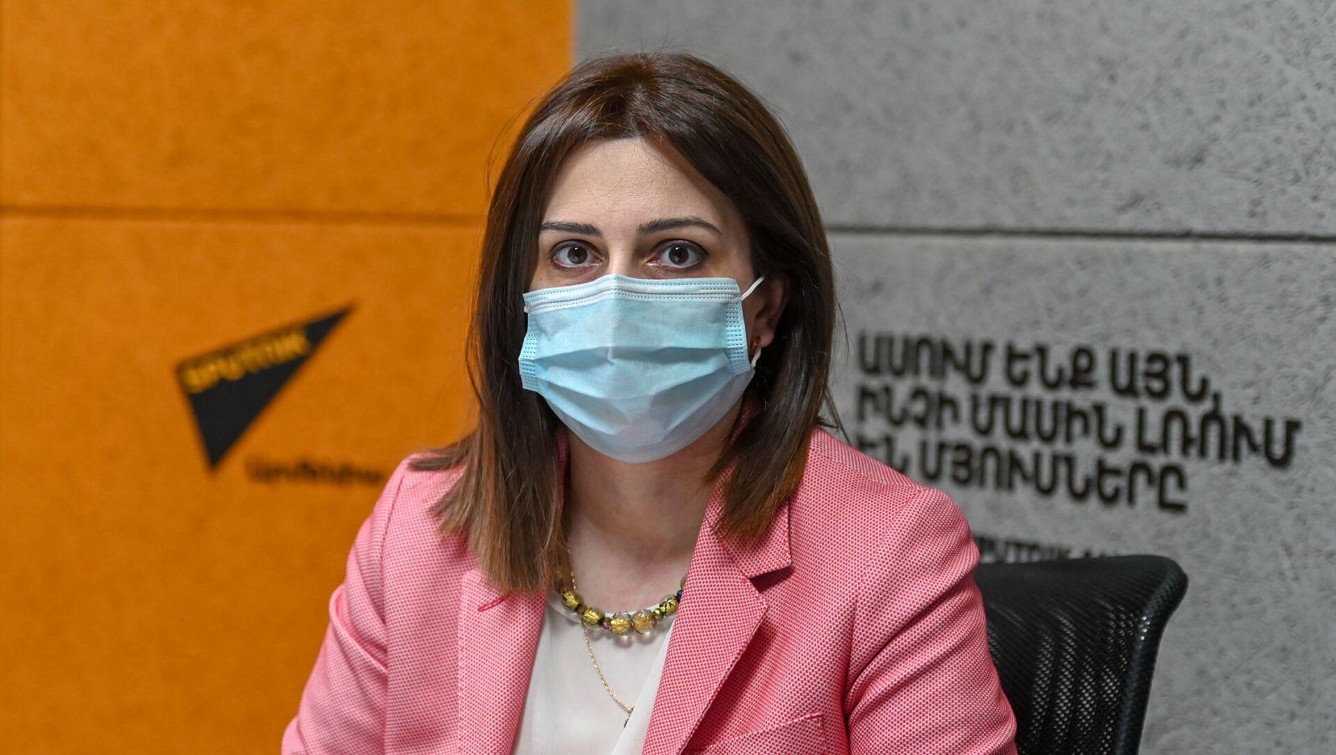 Министр здравоохранения Анаит Аванесян в гостях радио Sputnik - Sputnik Армения, 1920, 19.03.2021