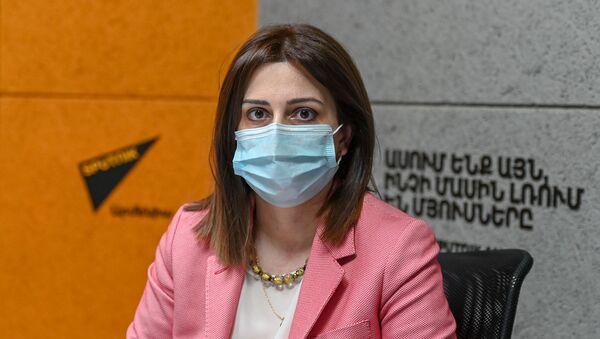 Министр здравоохранения Анаит Аванесян в гостях радио Sputnik - Sputnik Армения