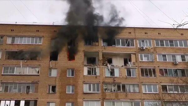 Взрыв в жиломдоме в Химках - Sputnik Армения