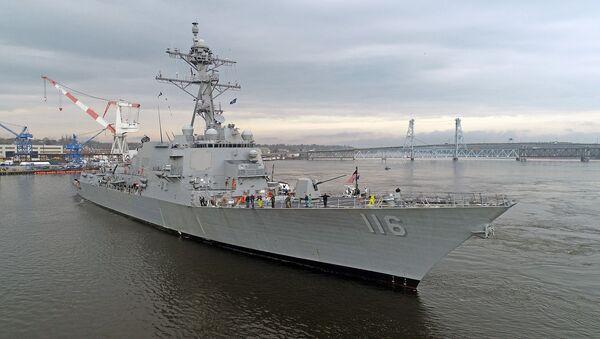 Эсминец USS Thomas Hudner  - Sputnik Армения