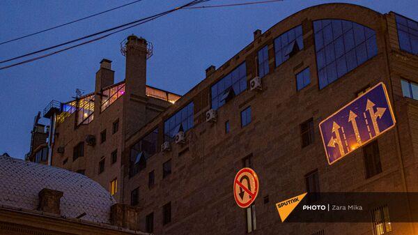 Высотное здание на улице Амиряна - Sputnik Армения