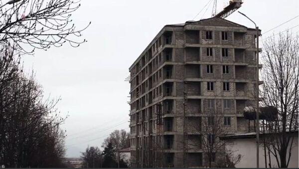 Здание в Степанакерте - Sputnik Արմենիա