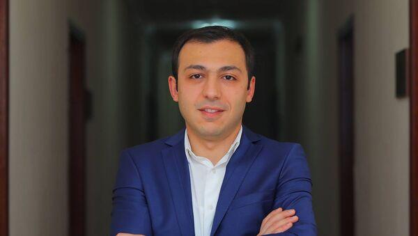 Новоназначенный омбудсмен Карабаха Гегам Степанян - Sputnik Արմենիա
