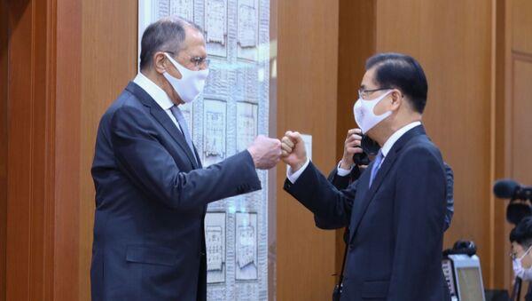Визит главы МИД РФ С. Лаврова в Южную Корею  - Sputnik Армения