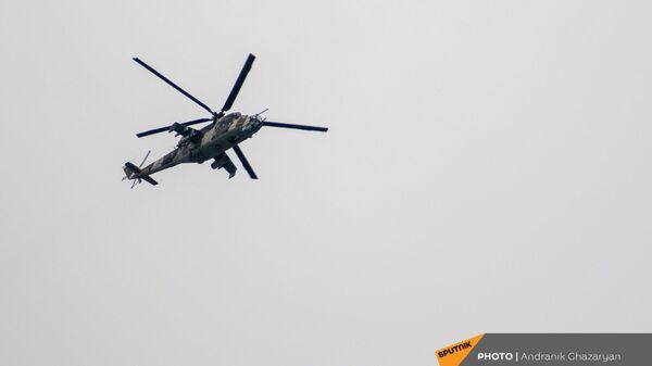 Военный вертолет Ми-24 - Sputnik Արմենիա