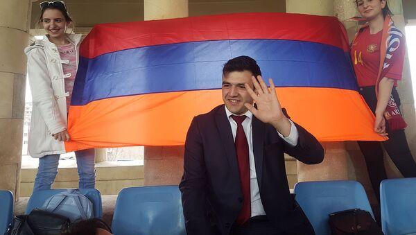 Погибший в боях за Шуши 24-летний Геворк Аршакян - Sputnik Արմենիա