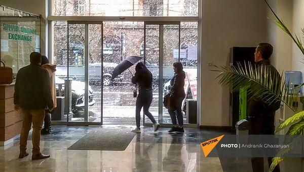 Мартовский снегопад - Sputnik Армения