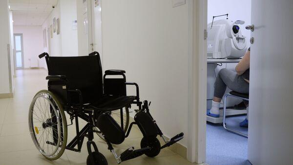 Инвалидная коляска  - Sputnik Армения