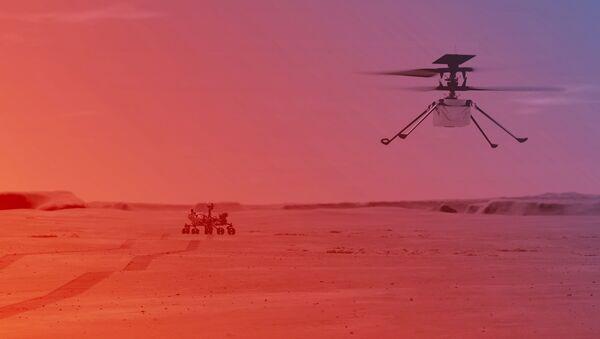 NASA проведет первый запуск вертолета на Марсе - Sputnik Армения